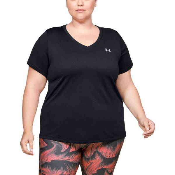Under Armour Women's Tech Solid V-Neck T-Shirt product image