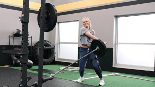 70cf505c4a2b Under Armour Women s Project Rock Sportlette Low-Impact Sports Bra ...