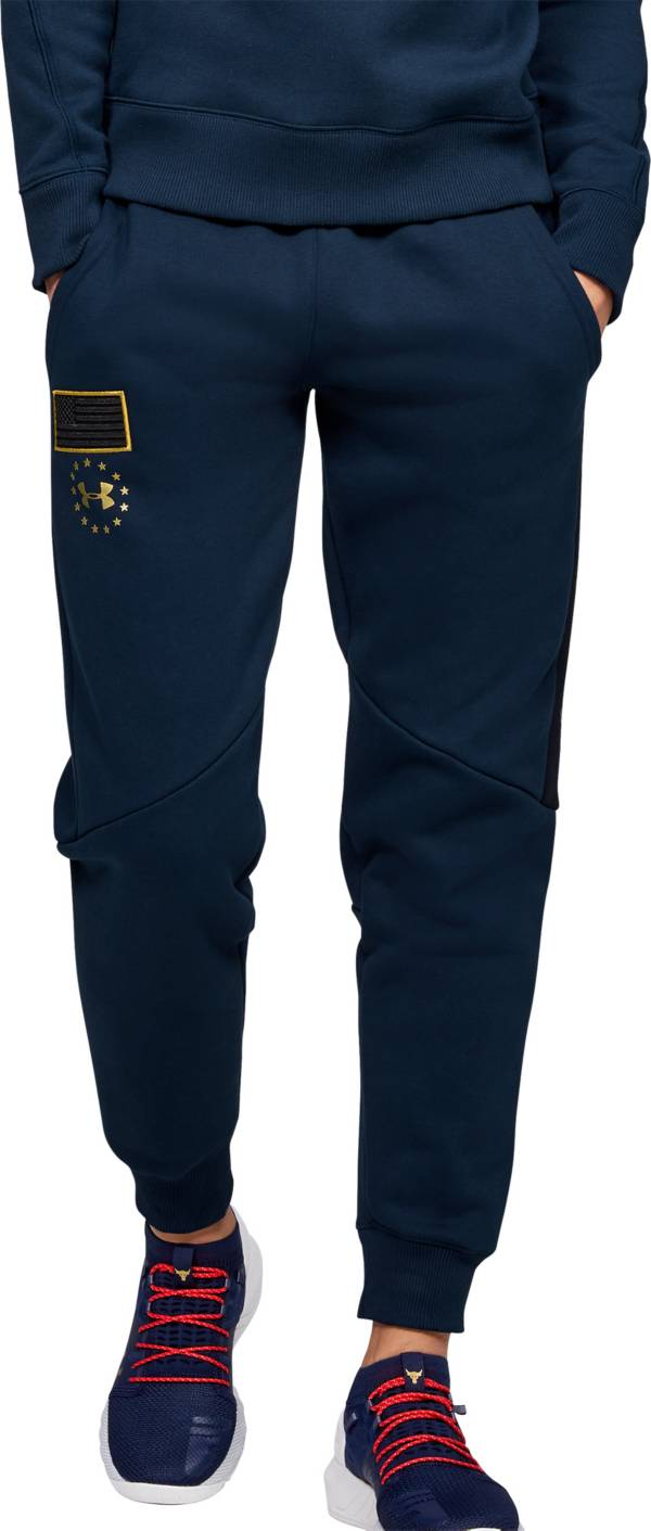 Under Armour Women's Project Rock Veteran's Day Fleece Pants product image