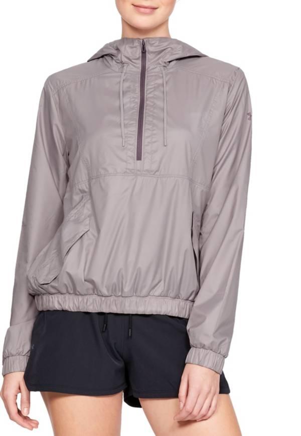 Under Armour Women's Windbreaker 1/2 Zip Anorak Jacket product image