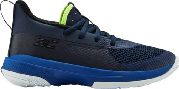Under Armour Kids' Preschool Curry 7 Basketball Shoes product image