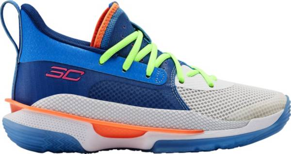 Under Armour Kids' Grade School Curry 7 Basketball Shoes product image