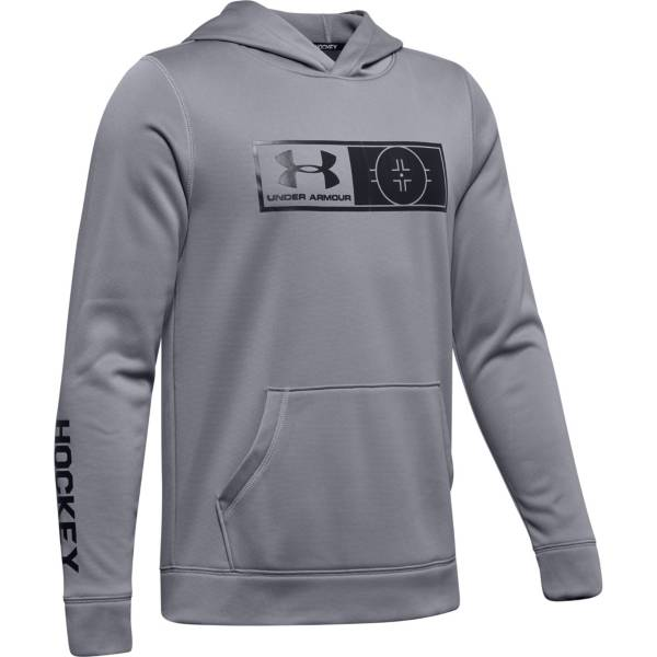 Under Armour Youth Fleece Hockey Hoodie product image