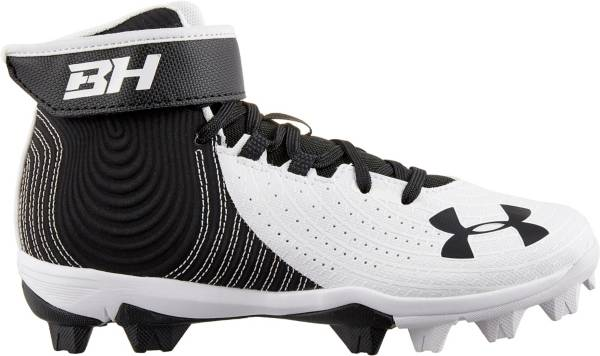 Under Armour Kids' Harper 4 Mid RM Baseball Cleats product image
