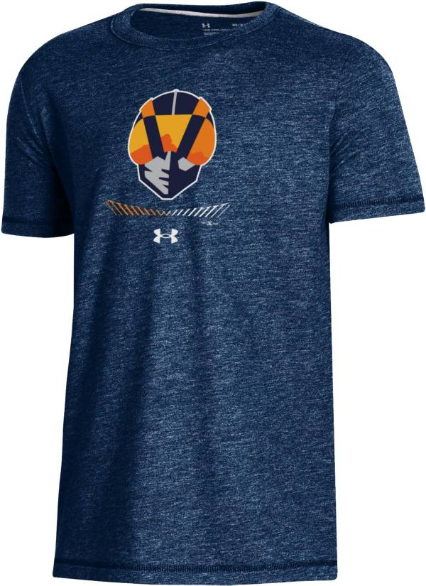 Under Armour Youth Las Vegas 51s Navy Tri-Blend Performance T-Shirt product image