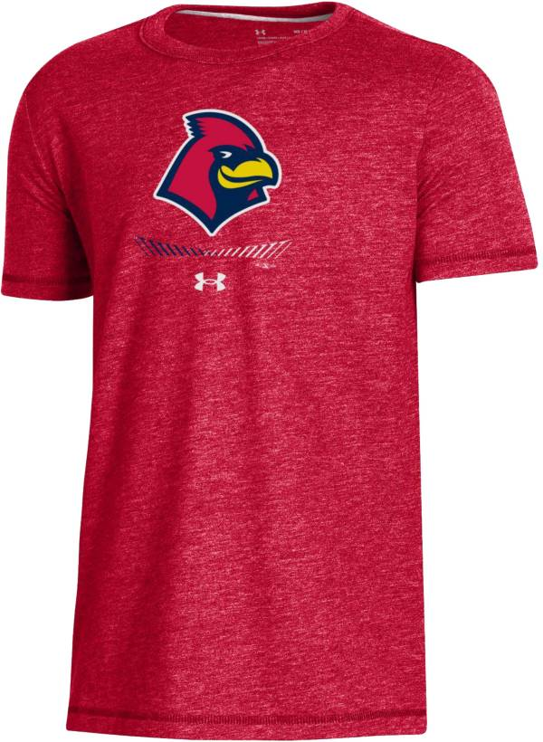 Under Armour Youth Memphis Redbirds Red Tri-Blend Performance T-Shirt product image