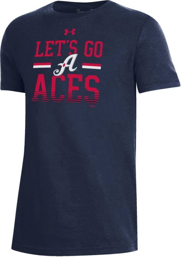 Under Armour Youth Reno Aces Navy Performance T-Shirt product image