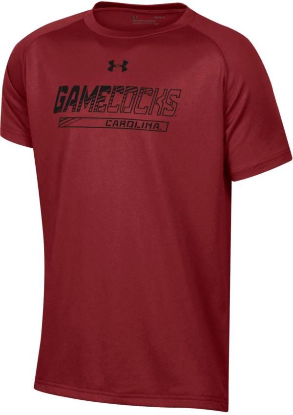 Under Armour Youth South Carolina Gamecocks Garnet Tech Performance T-Shirt product image
