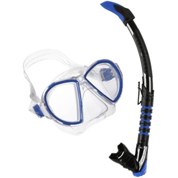 Aqua Lung Sport Adult Duetto ZephyrFlex Snorkel Combo product image