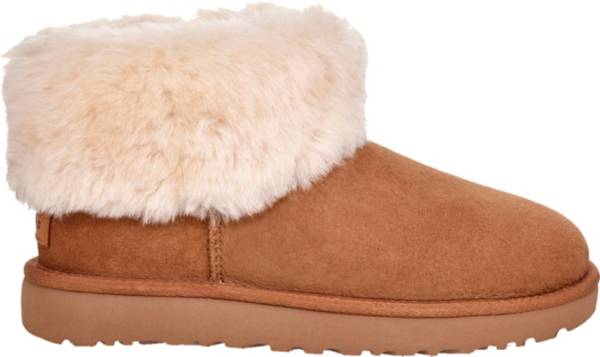UGG Women's Classic Mini Fluff Sheepskin Boots product image
