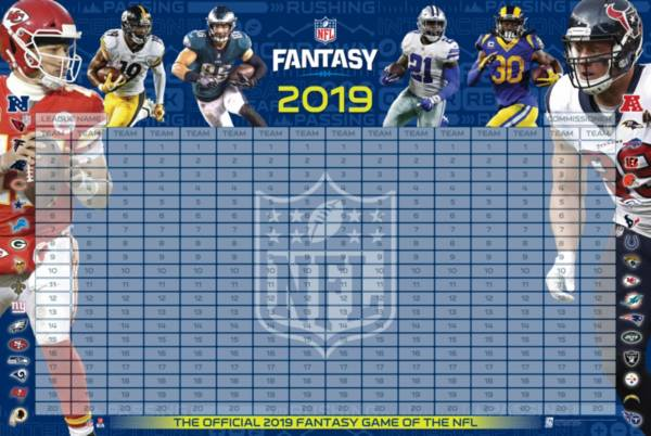 NFL 2019 Fantasy Football Draft Kit product image