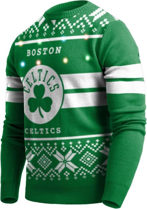 FOCO Men's Boston Celtics Logo Royal Ugly Sweater product image