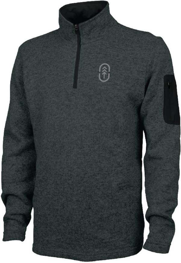 Up North Trading Company Men's Quarter Zip Fleece Pullover (Regular and Big & Tall) product image