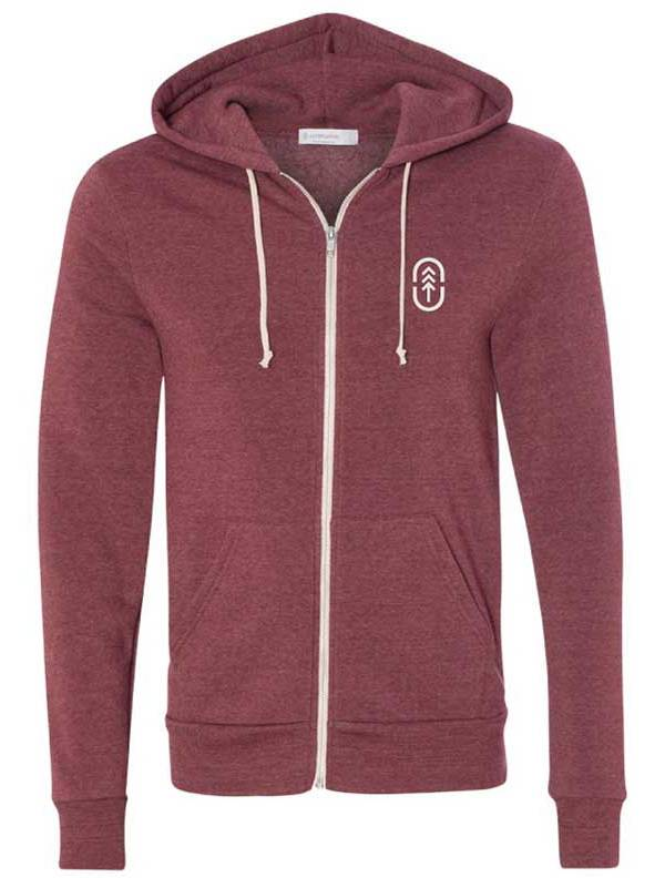Up North Trading Company Men's Zip Up Hoodie (Regular and Big & Tall) product image