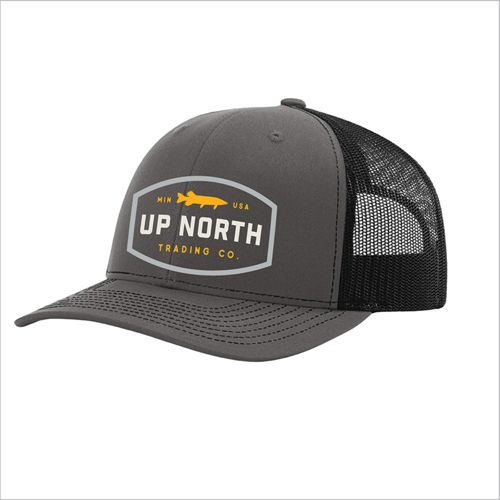 8fbf3003 Up North Trading Company Men's Northern/ Muskie Snapback Hat ...