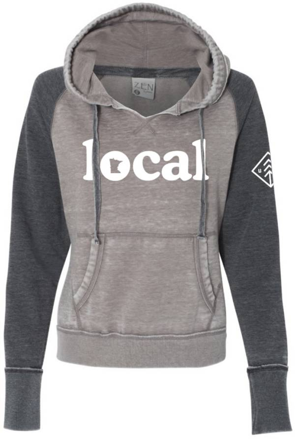 Up North Trading Company Women's Local Raglan Hoodie product image