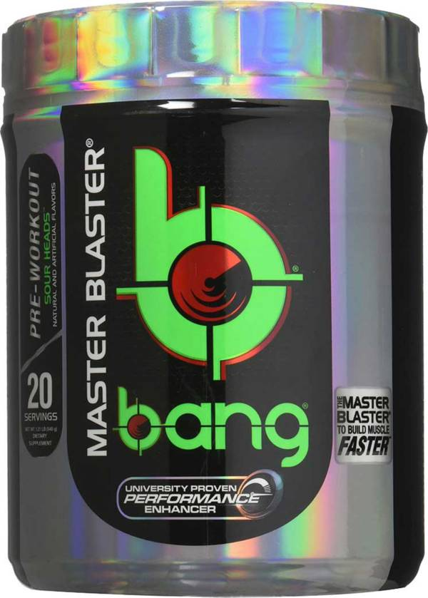 Bang Pre-Workout Master Blaster Sour Heads 20 Servings product image