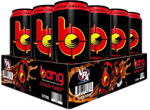 Bang Super Creatine Energy Drink Citrus Twist 12 Pack Case product image
