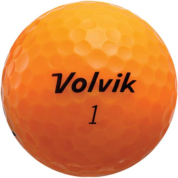 Volvik 2018 Crystal Orange Golf Balls product image