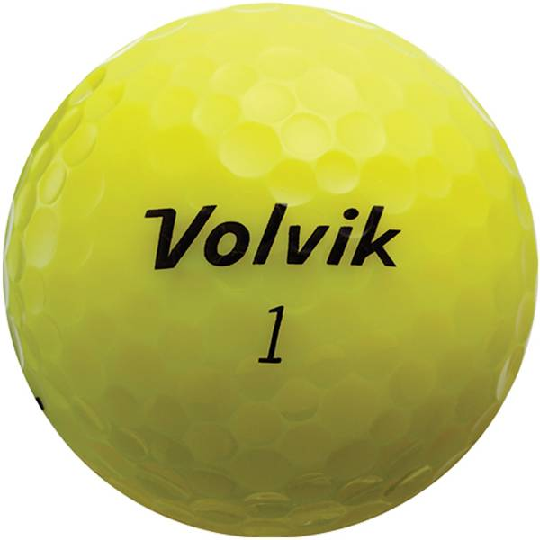 Volvik 2018 Crystal Yellow Golf Balls product image