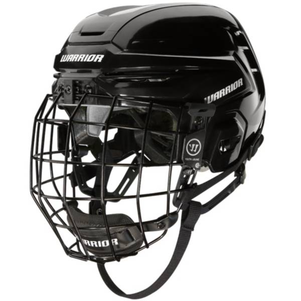 Warrior Senior Alpha One Ice Hockey Helmet Combo product image