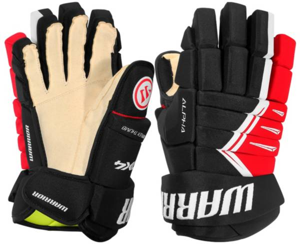 Warrior Junior Alpha DX 4 Ice Hockey Gloves product image