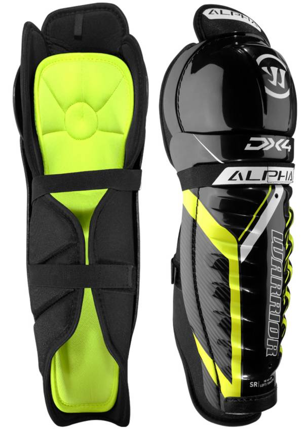 Warrior Junior Alpha DX 4 Ice Hockey Shin Guards product image
