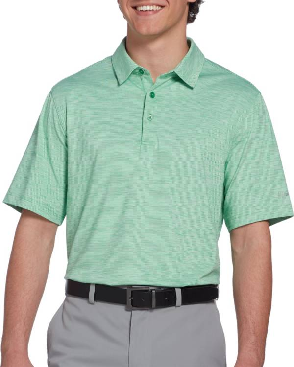 Walter Hagen Men's 11 Majors Championship Stripe Golf Polo – Big & Tall product image