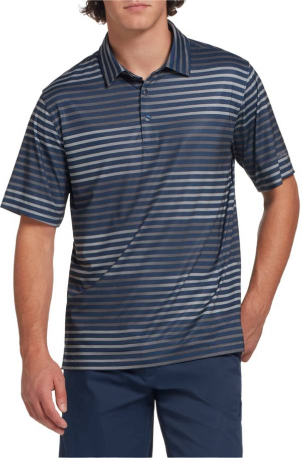 Walter Hagen Men's 11 Majors Ombre Stripe Golf Polo- Big & Tall product image