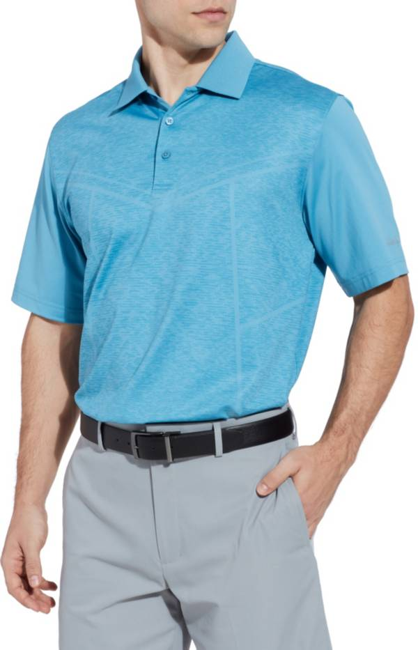 Walter Hagen Men's 11 Majors Body Map Printed Golf Polo product image