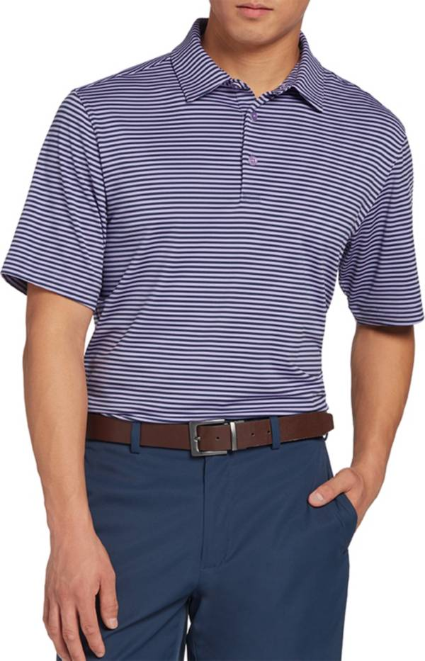 Walter Hagen Men's 11 Majors Bar Stripe Golf Polo product image