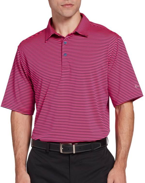 Walter Hagen Men's 11 Majors Bar Stripe Golf Polo product image