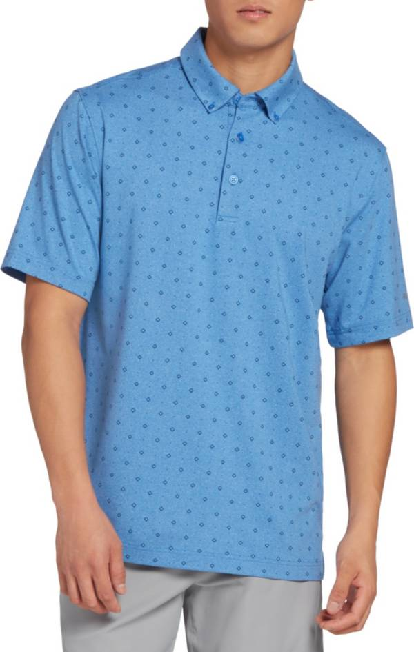 Walter Hagen Men's 11 Majors Diamond Printed Golf Polo – Big & Tall product image