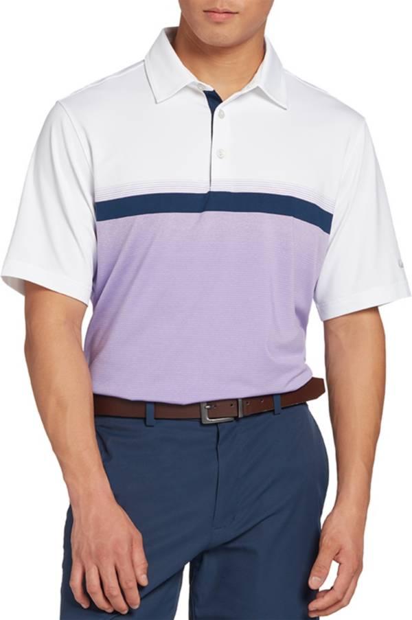 Walter Hagen Men's 11 Majors Ombre Textured Golf Polo- Big & Tall product image