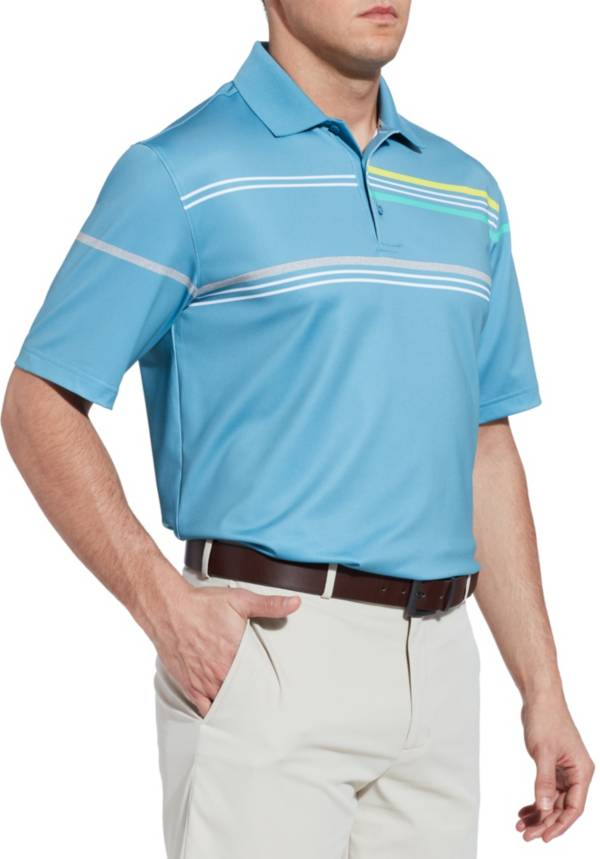 Walter Hagen Men's 11 Majors Chest Stripe Golf Polo product image