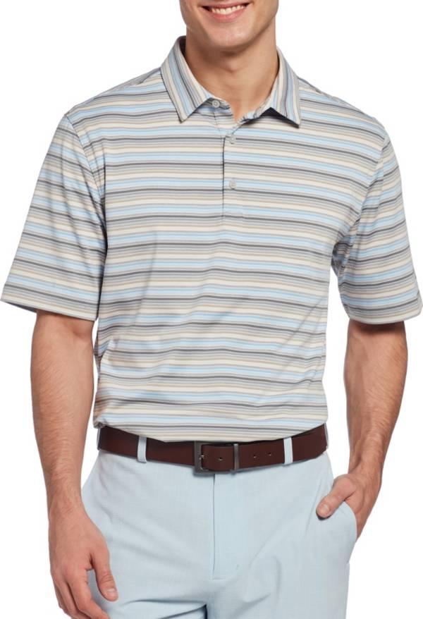 Walter Hagen Men's 11 Majors Mini Stripe Golf Polo product image