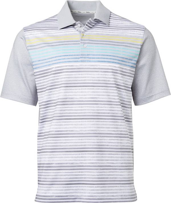 Walter Hagen Men's 11 Majors Scattered Stripe Golf Polo product image