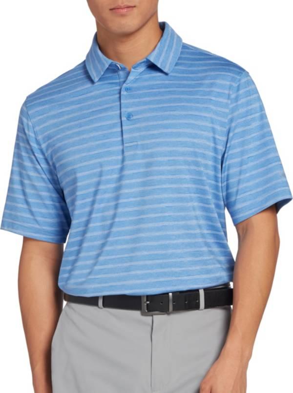 Walter Hagen Men's 11 Majors Texture Heather Stripe Golf Polo product image