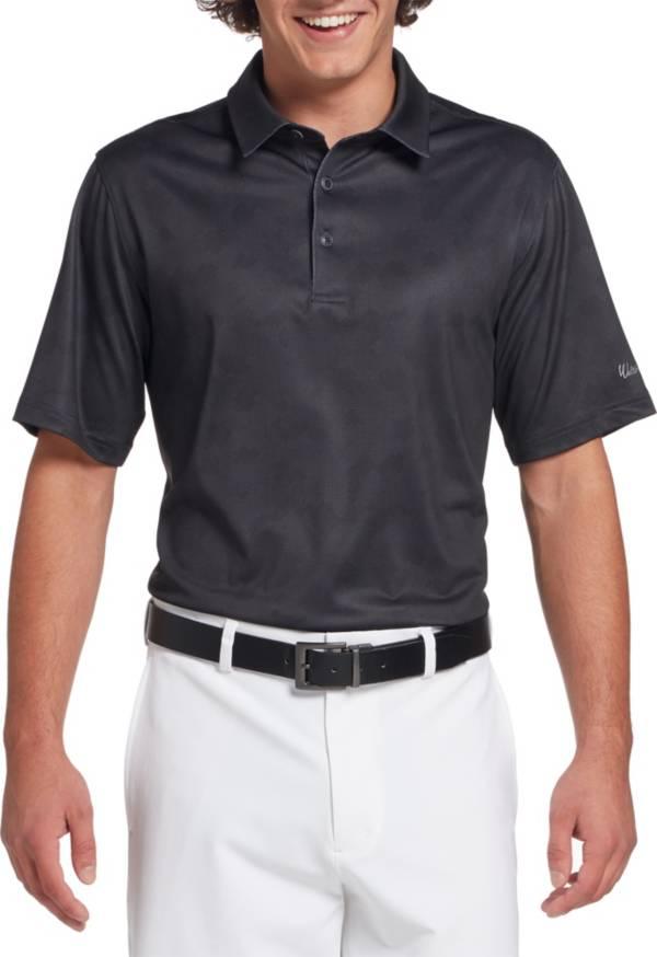 Walter Hagen Men's 11 Majors Gingham Camo Golf Polo product image