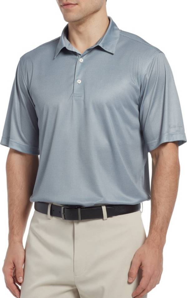 Walter Hagen Men's Essentials Houndstooth Printed Golf Polo product image