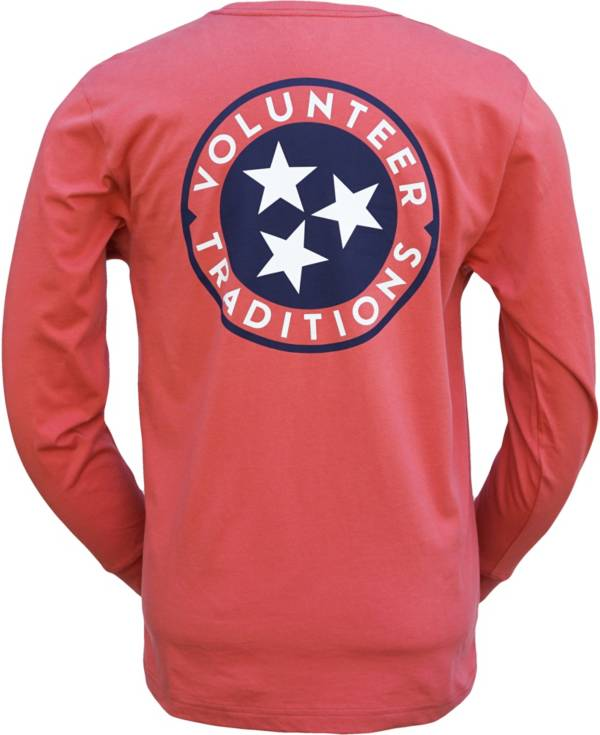 Volunteer Traditions Men's Tennessee Tristar Long Sleeve T-Shirt product image