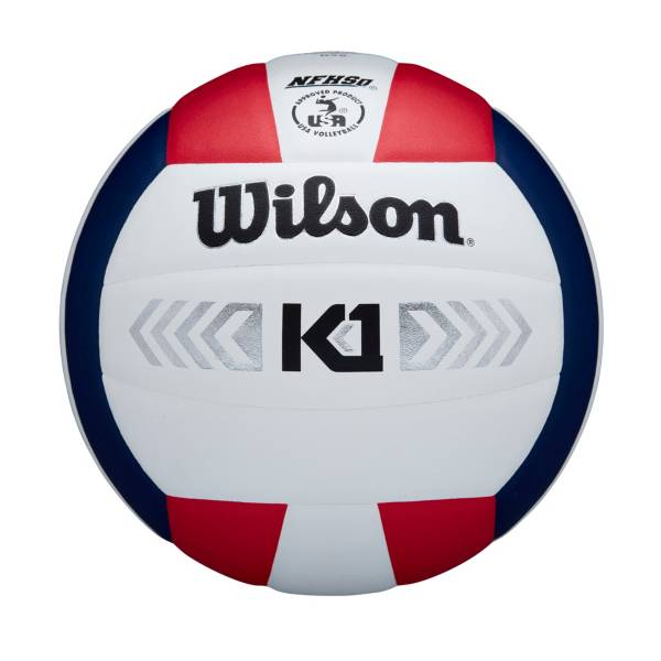 Wilson K1 Silver Indoor Volleyball product image