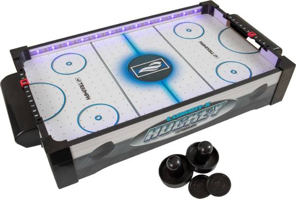 """Triumph 20"""" LED Light-Up Tabletop Air Hockey Table product image"""
