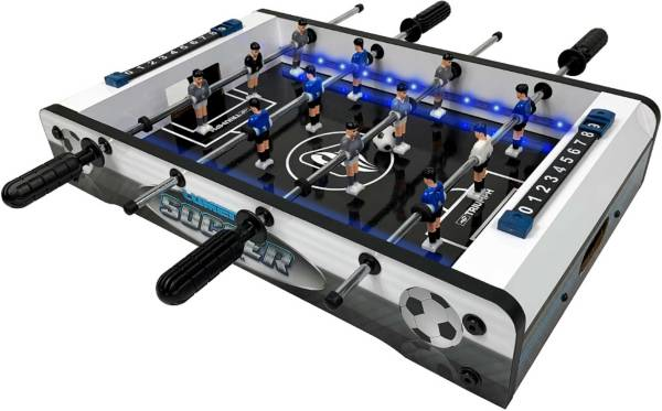 "Triumph 20"" LED Light-Up Tabletop Foosball Table product image"