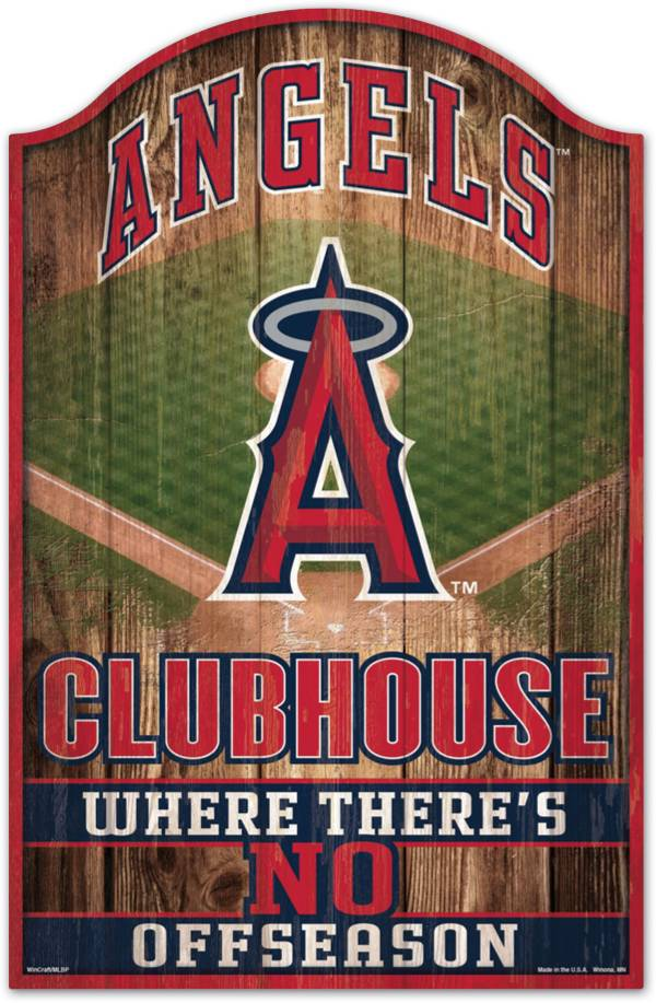 """Wincraft Los Angeles Angels 11"""" x 17"""" Sign product image"""
