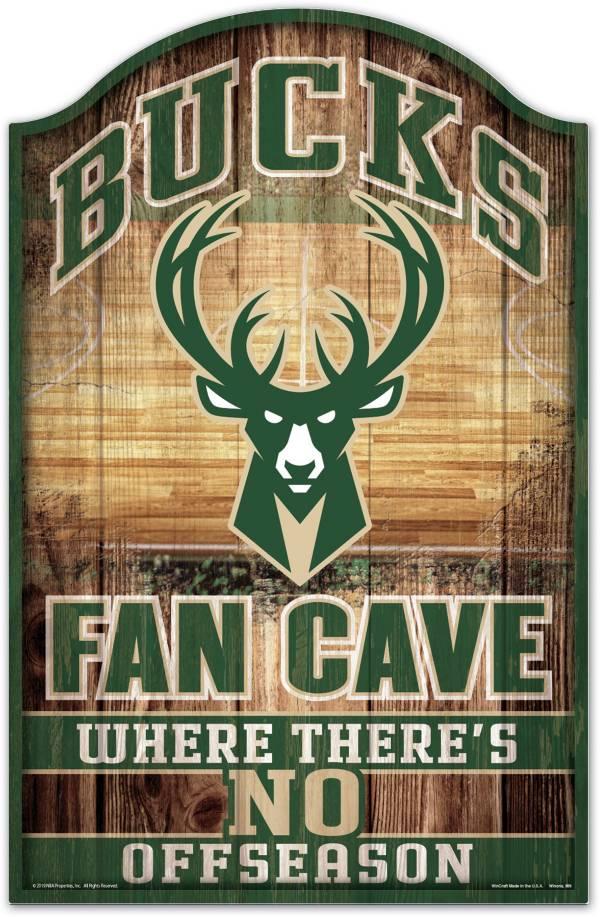 "Wincraft Milwaukee Bucks 11"" x 17"" Sign product image"