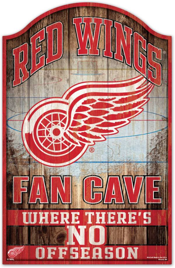 """Wincraft Detroit Redwings 11"""" x 17"""" Sign product image"""