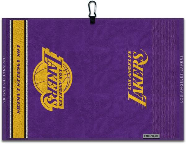 Team Effort Los Angeles Lakers Embroidered Face-Club Golf Towel product image