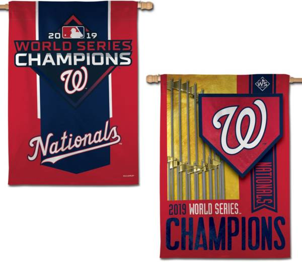 WinCraft 2019 World Series Champions Washington Nationals Two-Sided Banner Flag product image