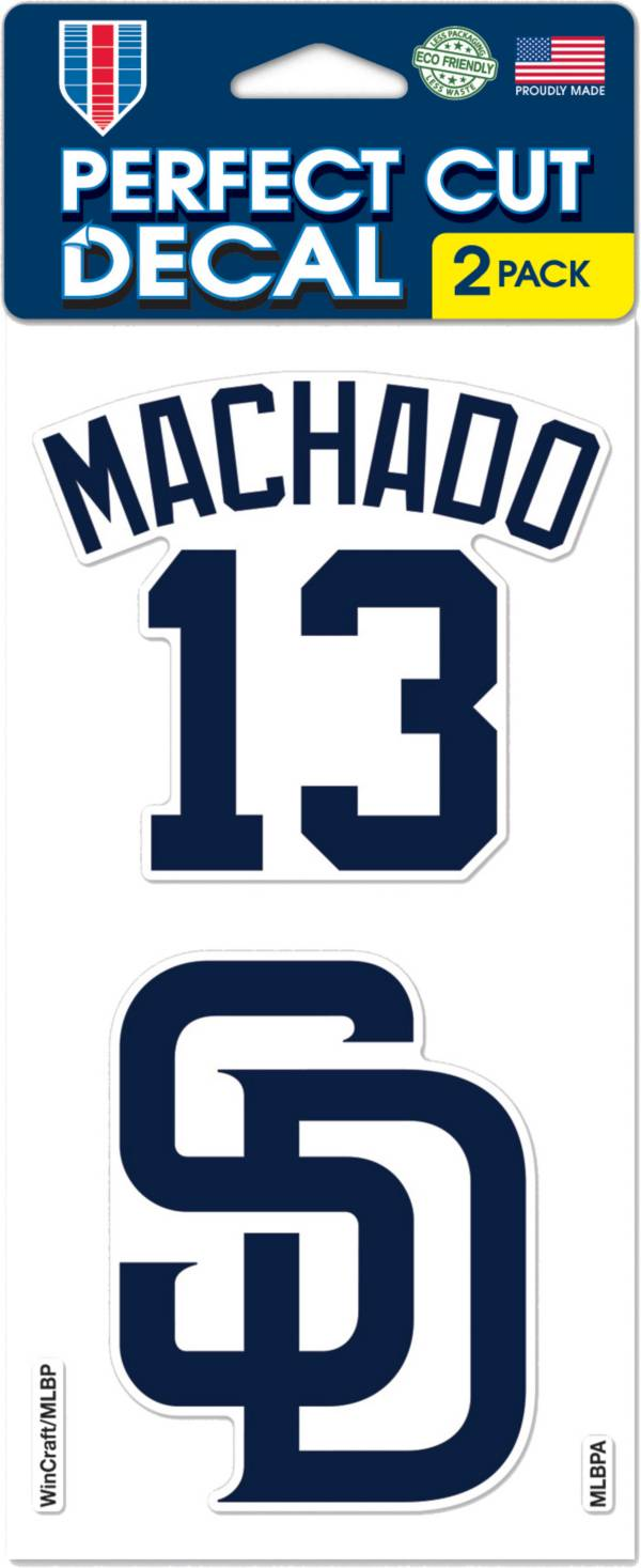 WinCraft San Diego Padres Manny Machado Decal product image